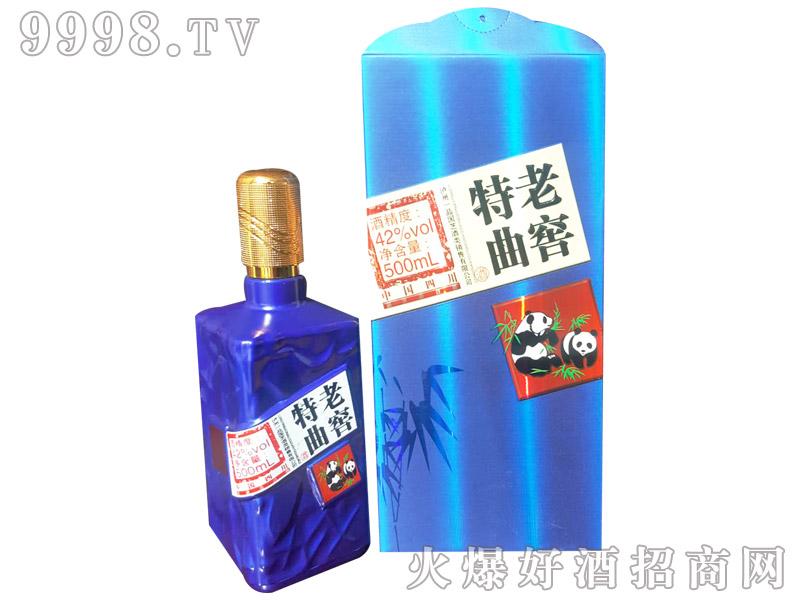 一品国芝老窖特曲蓝瓶