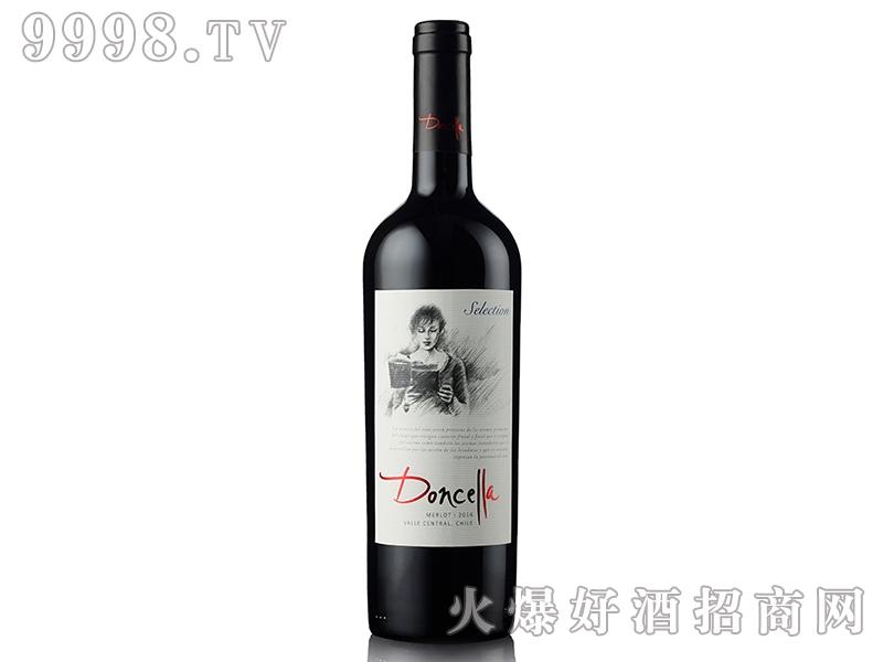 智利郗亚公主梅洛干红葡萄酒