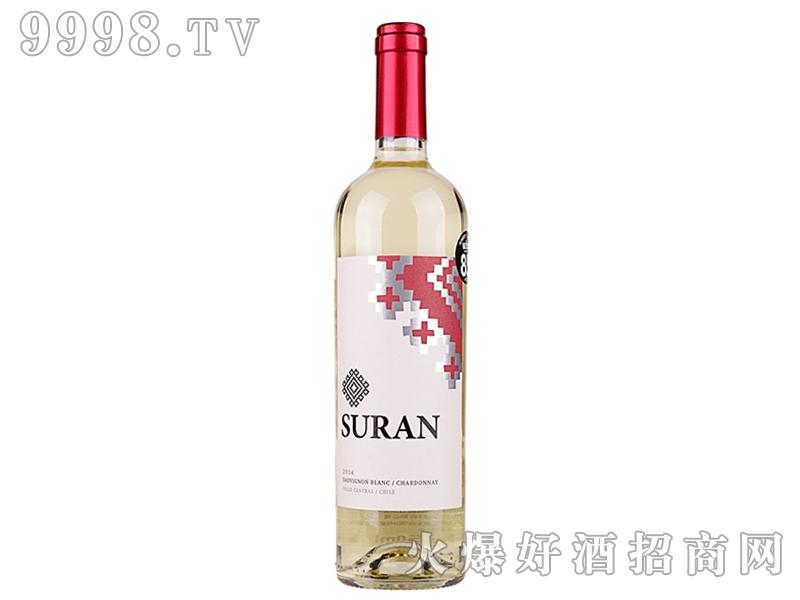 智利莎岚长相思霞多丽干白葡萄酒