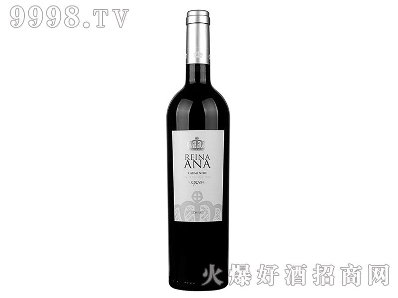 智利安娜皇冠珍藏卡曼尼干红葡萄酒