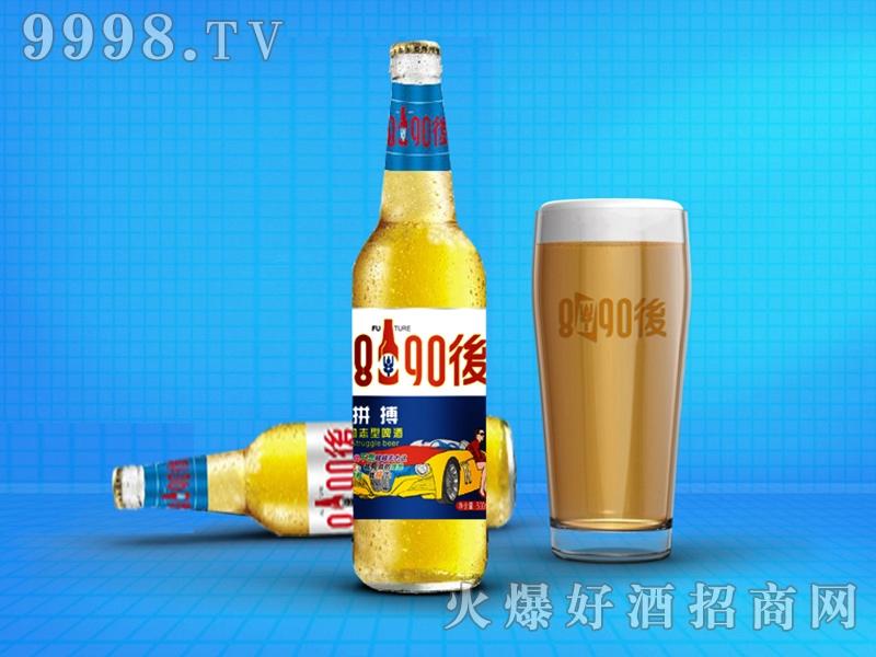 8090后啤酒・青春励志型蓝标500ml