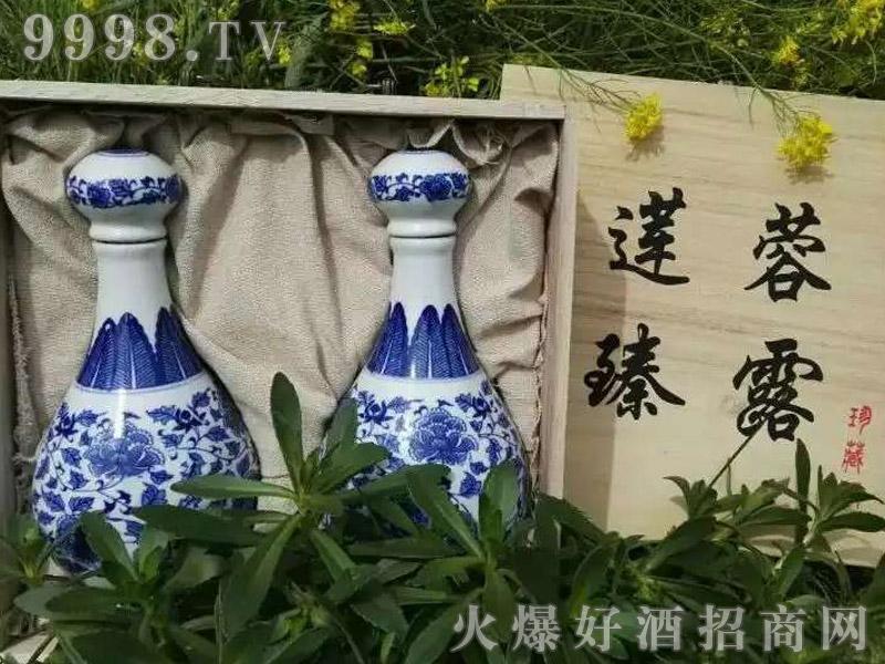莲蓉臻露酒青花珍藏版
