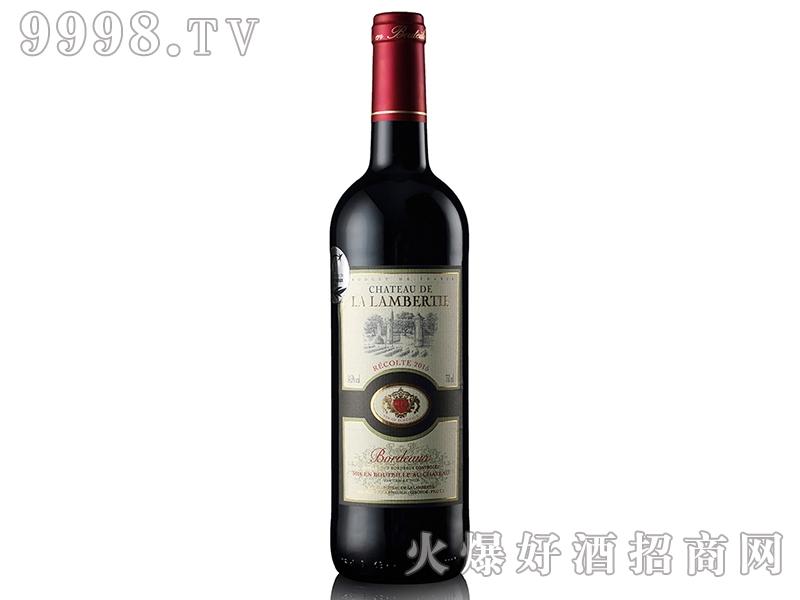 法国朗柏特城堡干红葡萄酒