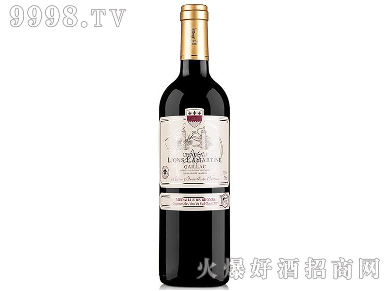 法国拉玛特雄狮堡干红葡萄酒