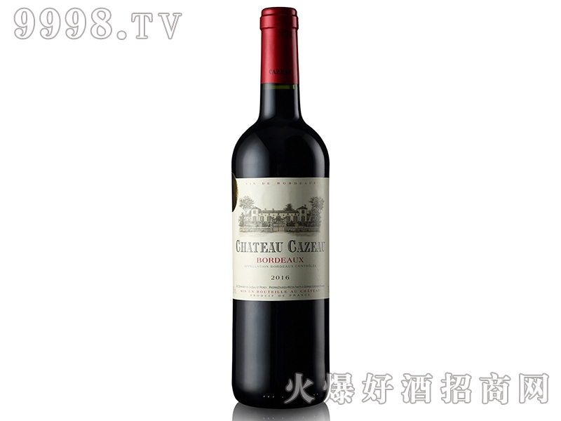 法国佧索城堡干红葡萄酒