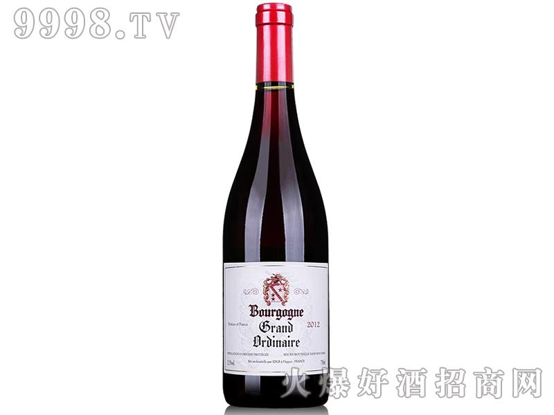 法国格兰勃艮第干红葡萄酒