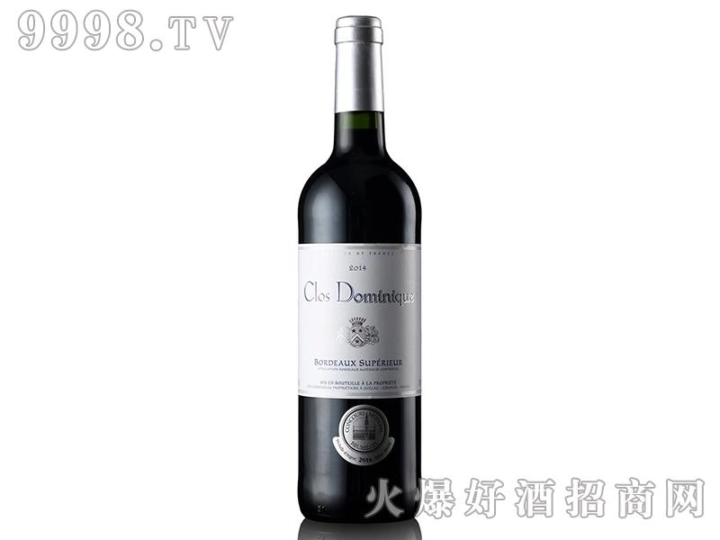法国多美尼克庄园干红葡萄酒