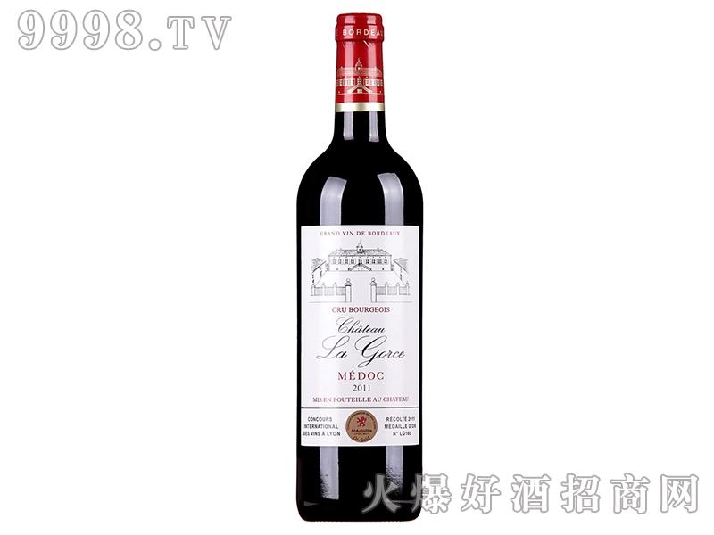 法国拉克丝庄园AOP干红葡萄酒 中级庄