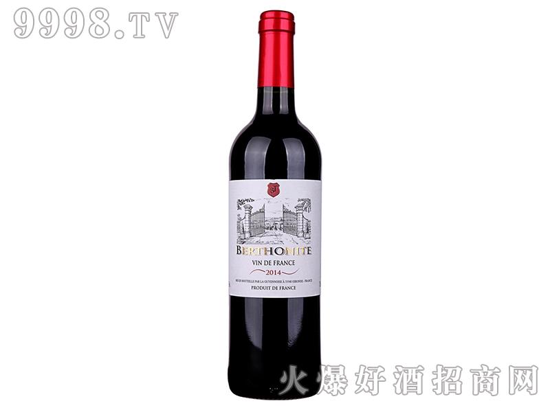 法国贝尔特酒庄AOP干红葡萄酒