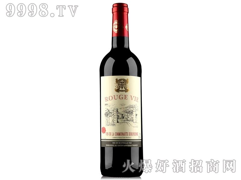 法国奥瑞安洛威古堡干红葡萄酒