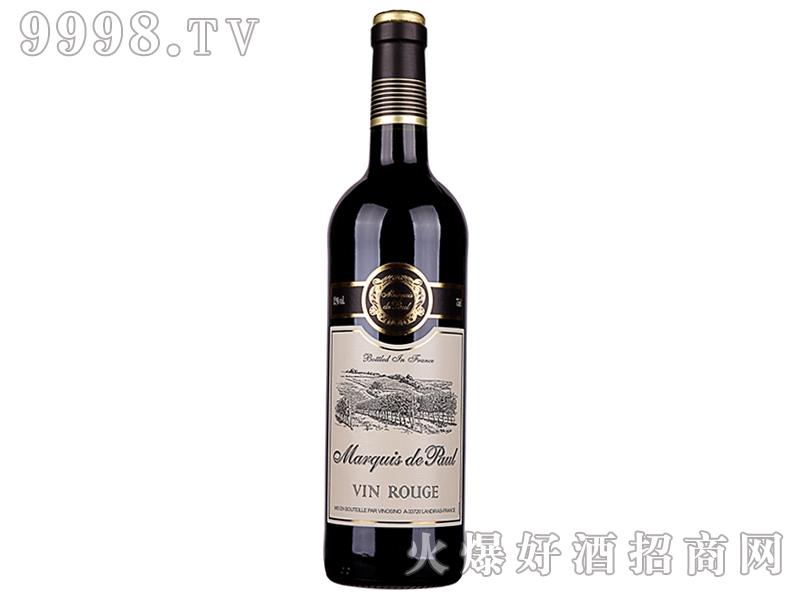 法国堡罗侯爵干红葡萄酒