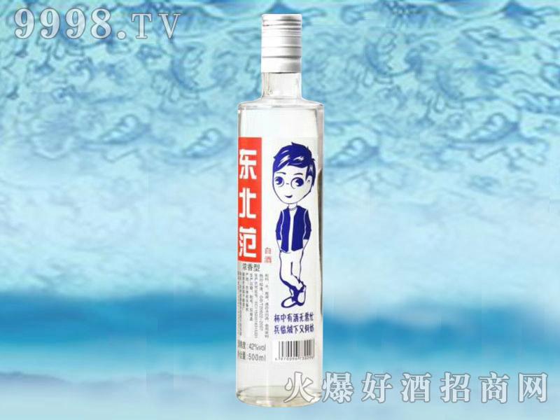 东北范白酒500ml
