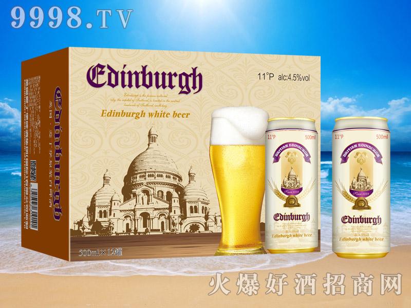 英国爱丁堡原浆白啤酒11°500ml