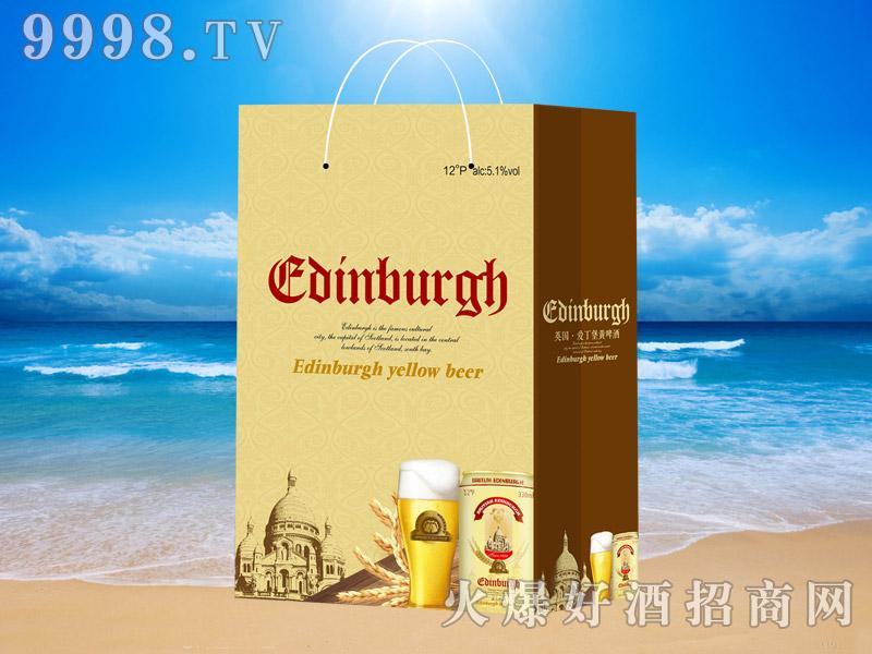 英国爱丁堡黄啤330ml×24(手提袋)