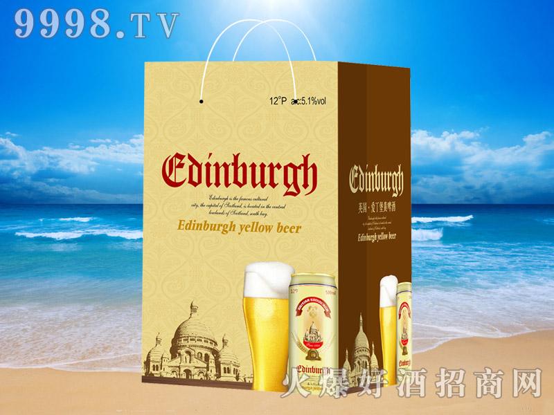 英国爱丁堡黄啤500ml×12(手提袋)