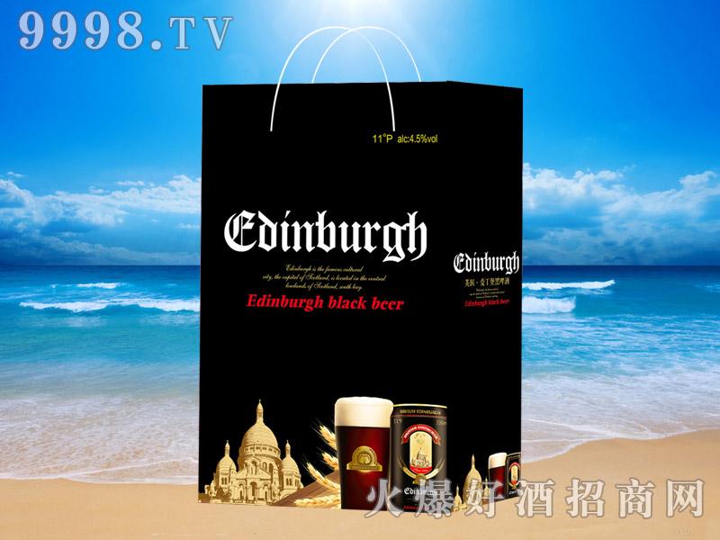 英国爱丁堡黑啤330ml×24(手提袋)