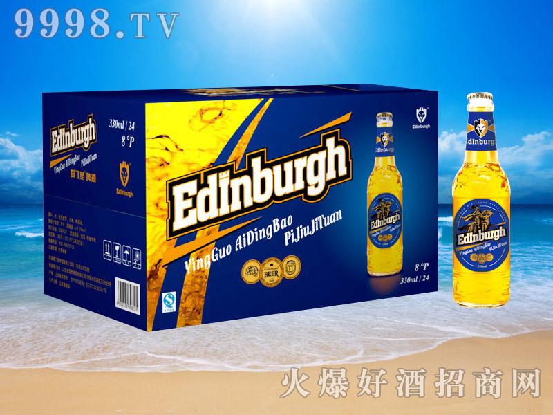 英国爱丁堡啤酒8°330ml(蓝箱)