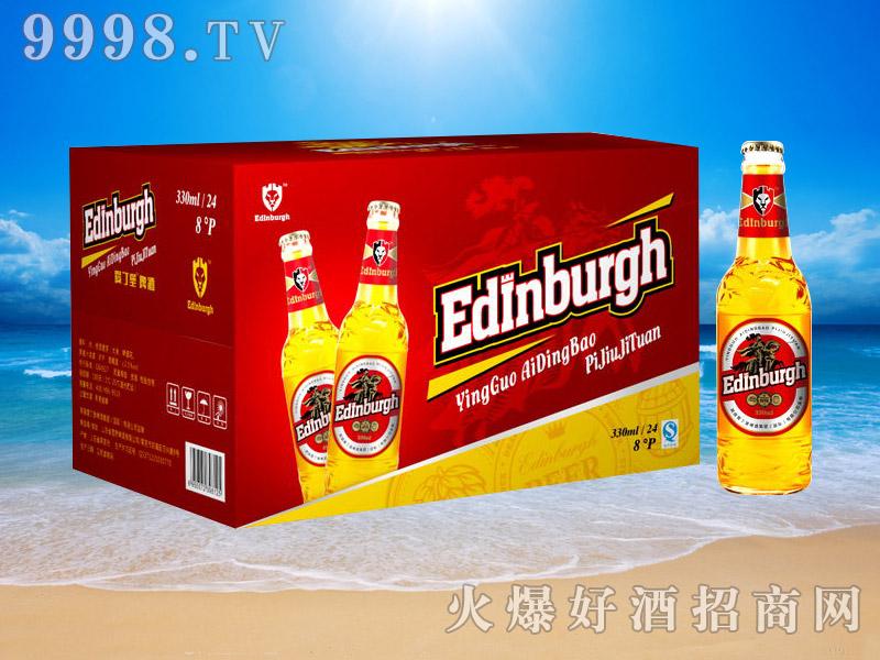 英国爱丁堡啤酒8°330ml(红箱)