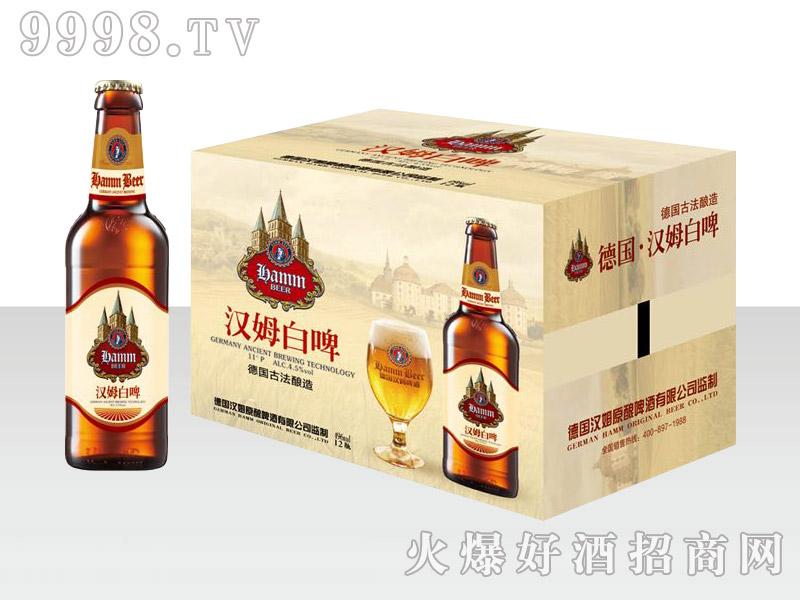 德国汉姆白啤496ml×12瓶