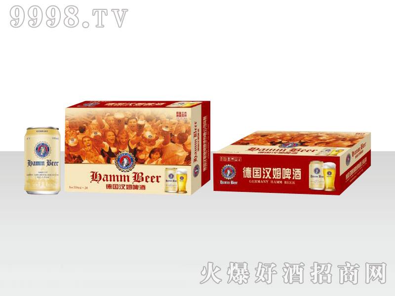 德国汉姆啤酒330ml×24罐