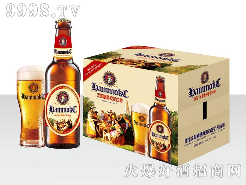 汉姆蕾顿原浆白啤标箱496ml×12瓶