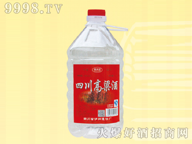 四川高粱酒42度4L