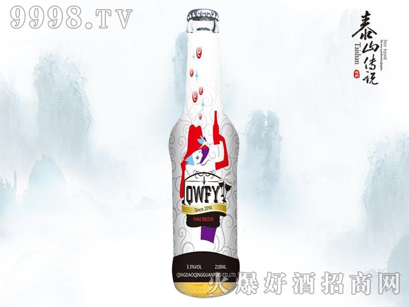 啪啪啪嗨啤228毫升麦芽度10度酒精度3.3