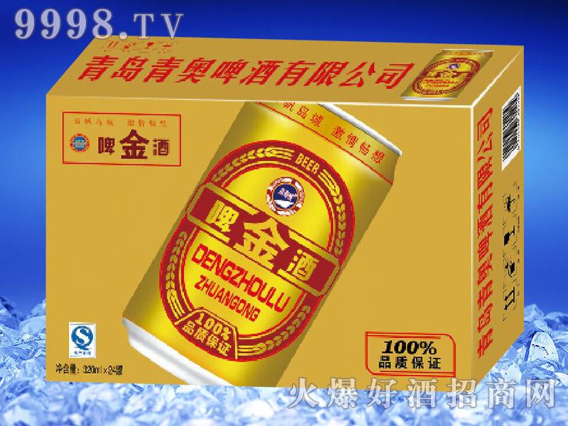 滨海情金啤酒(金卡)