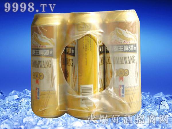滨海情小麦王啤酒500ml×9