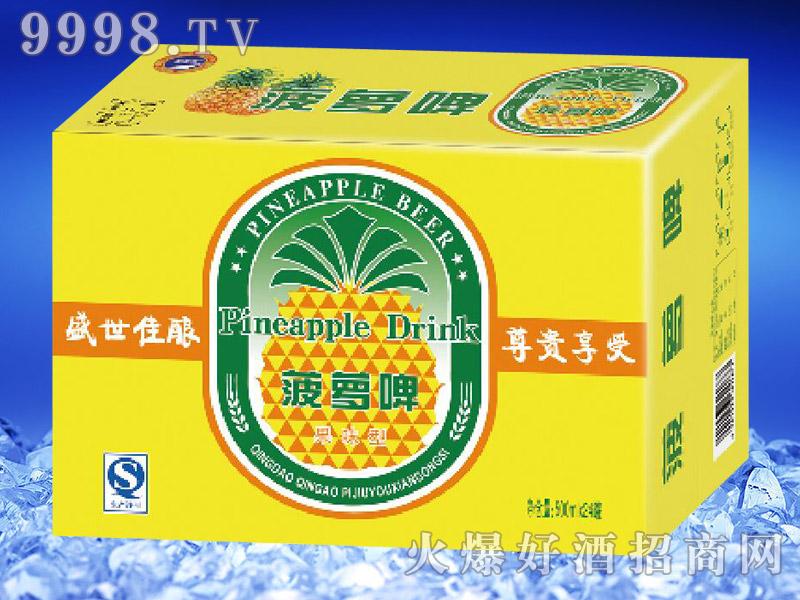 滨海情菠萝啤500ml(黄箱)