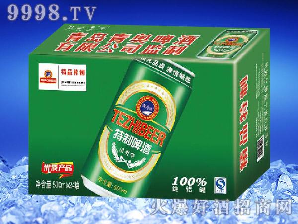 滨海情精品特制啤酒500ml×24
