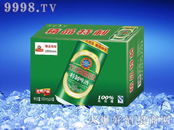 滨海情精品特制啤酒500ml