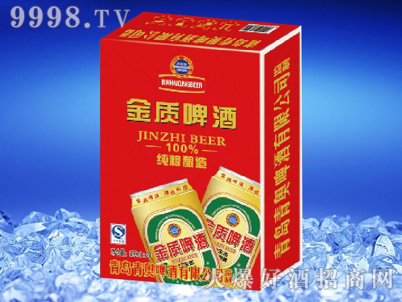 滨海情金质啤酒(竖版)