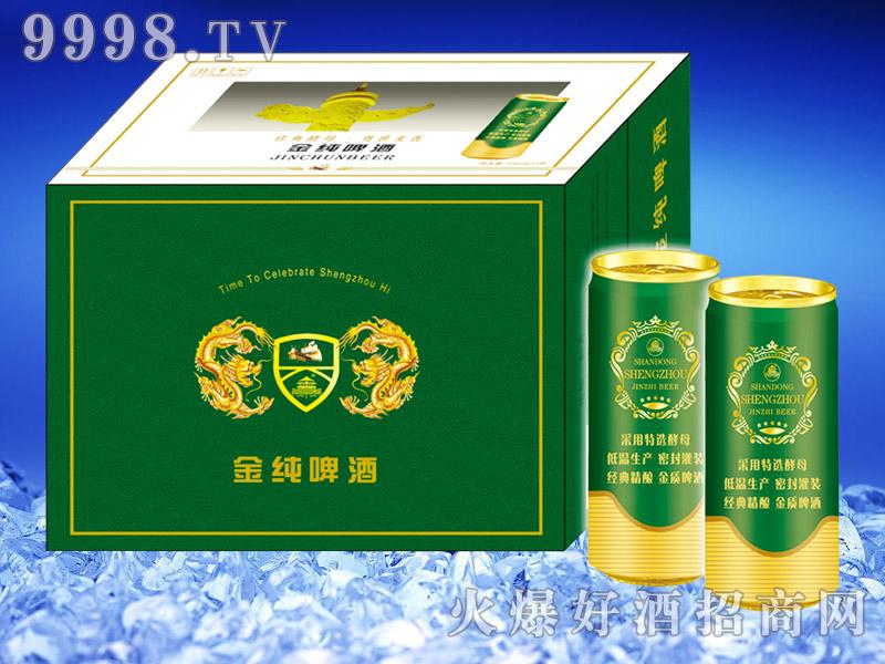 圣洲金纯啤酒500ml