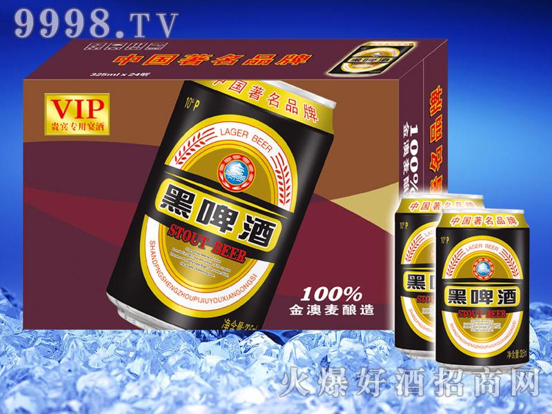 圣洲黑啤酒325ml