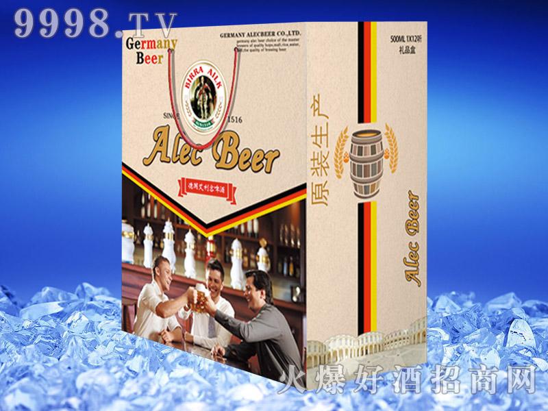德国艾利客白啤酒500ml礼盒