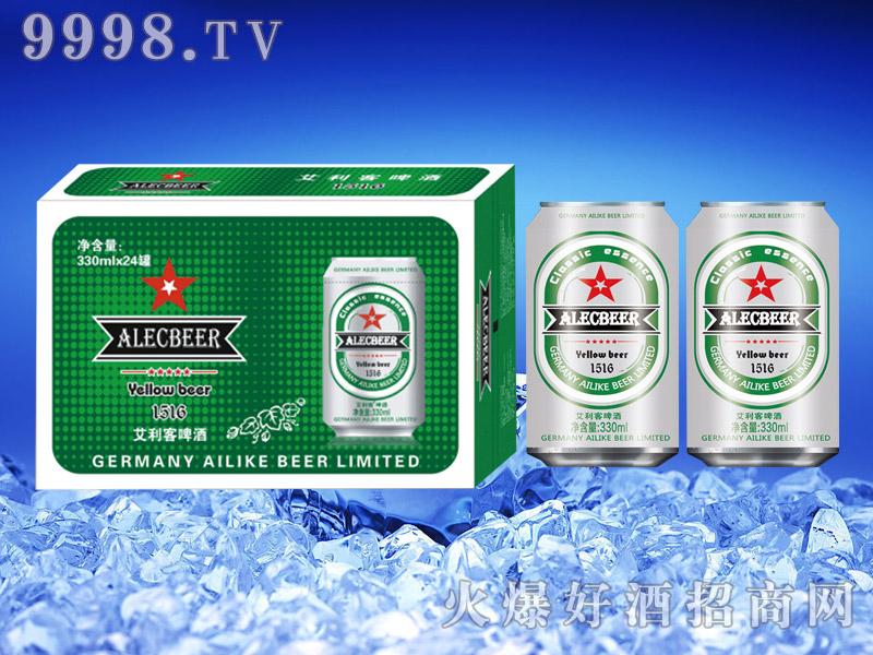 德国艾利客啤酒11°330ml