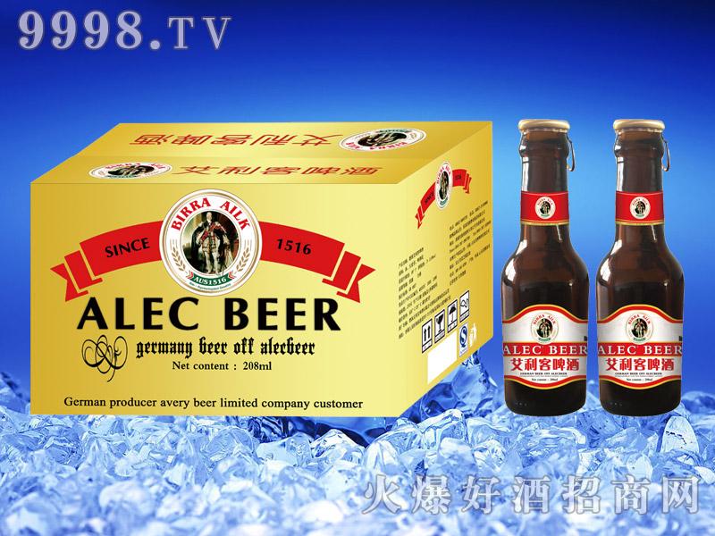 德国艾利客啤酒208ml