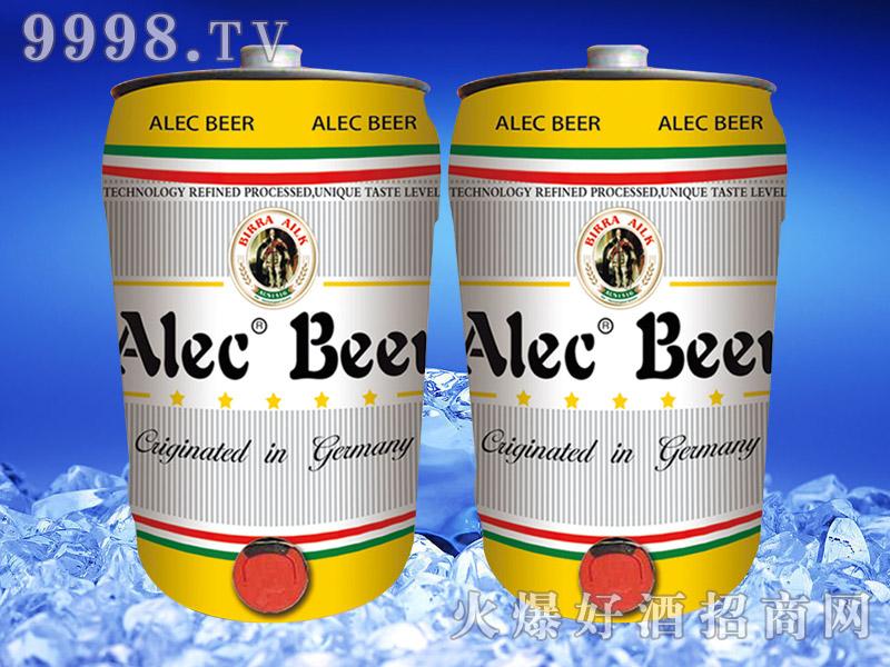 德国艾利客白啤酒5L桶