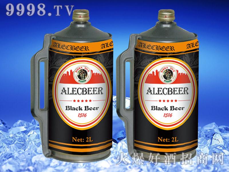 德国艾利客黑啤酒2L桶