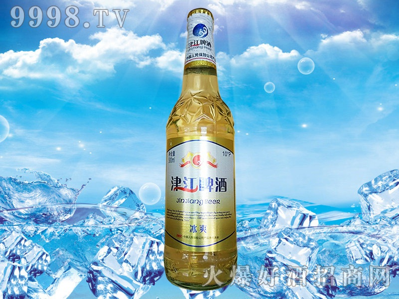 津江啤酒-冰霜