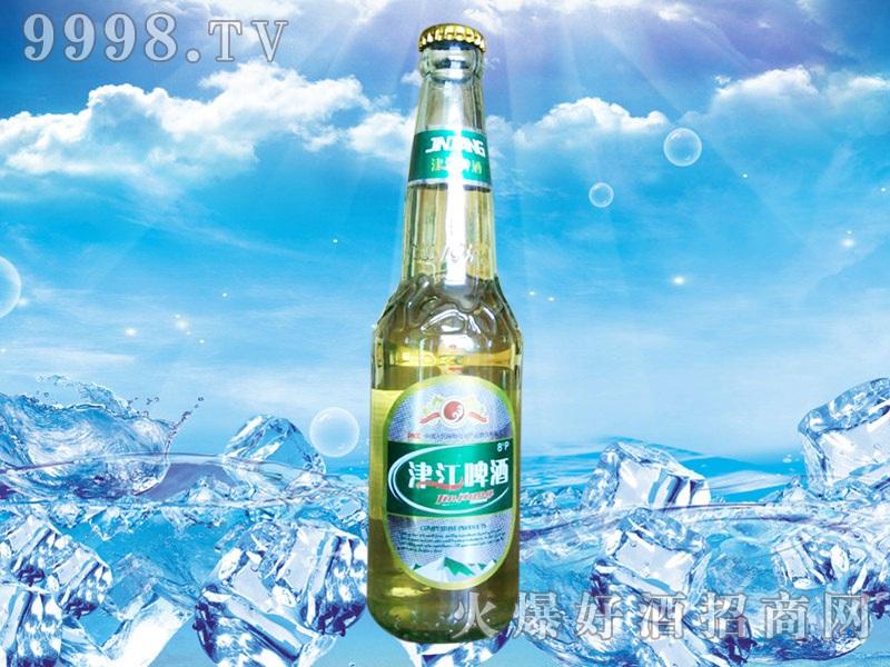 津江啤酒370ml绿标