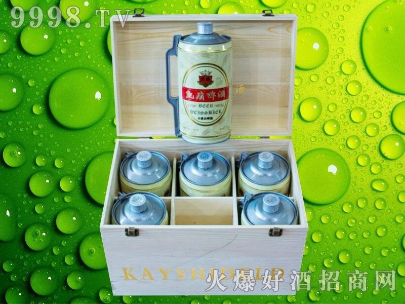 凯盾原浆白啤酒2L