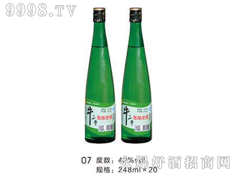 牛二牛陈酿老酒42°248ml