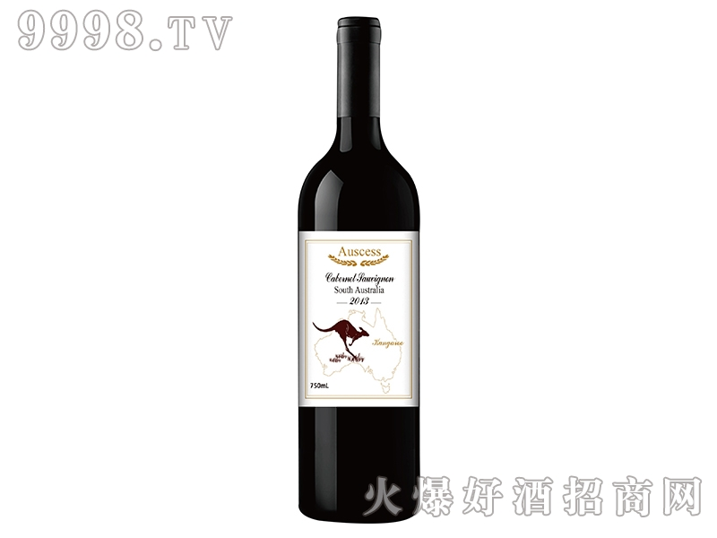 袋鼠赤霞珠干红葡萄酒2013