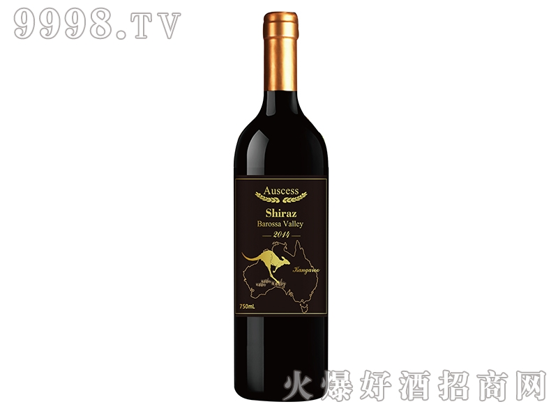 袋鼠巴罗萨西拉子干红葡萄酒2014