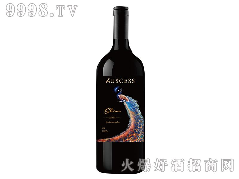 孔雀西拉子干红葡萄酒2015