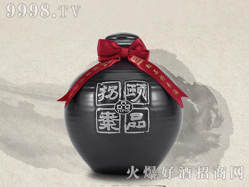 颐品拐枣原浆酒・汉水云纹系列-黑色瓶52度500ML