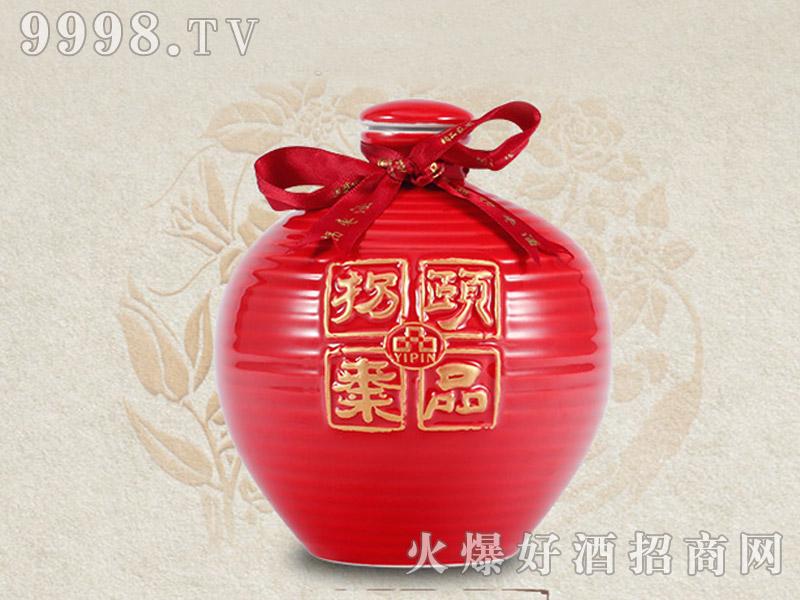 颐品拐枣原浆酒・汉水云纹系列-红色瓶42度500ML