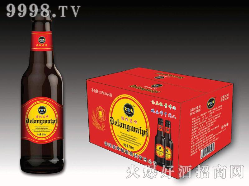 德朗麦啤・正能量啤酒218mlx24瓶